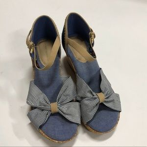 Women's wedges Tommy Hilfiger size 3 Shoes